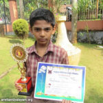 Winner – All Kerala Drawing & Painting Competition 2016